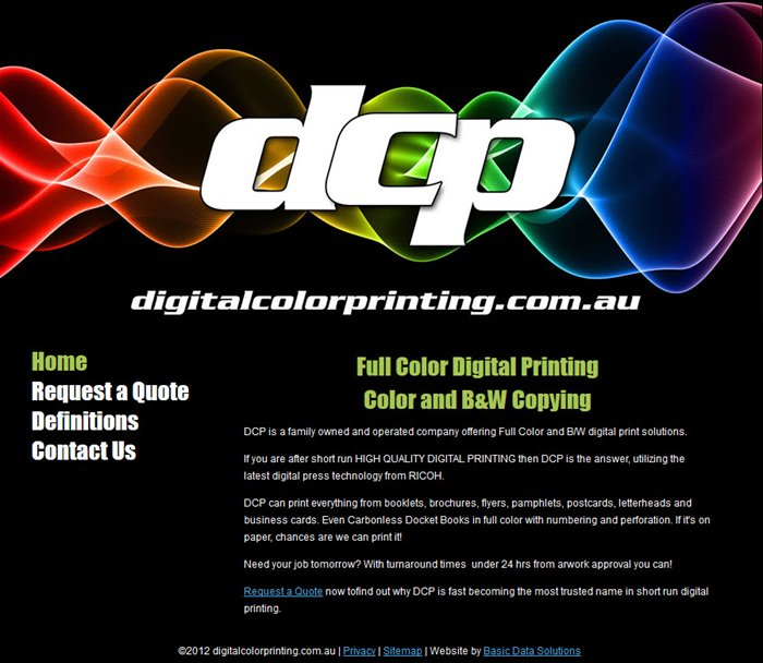 Go to Digital Color Printing