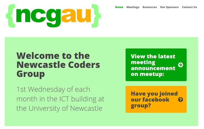 Go to Newcastle Coders Group