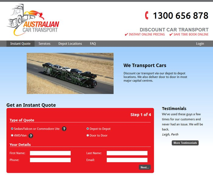 Go to Australian Car Transport