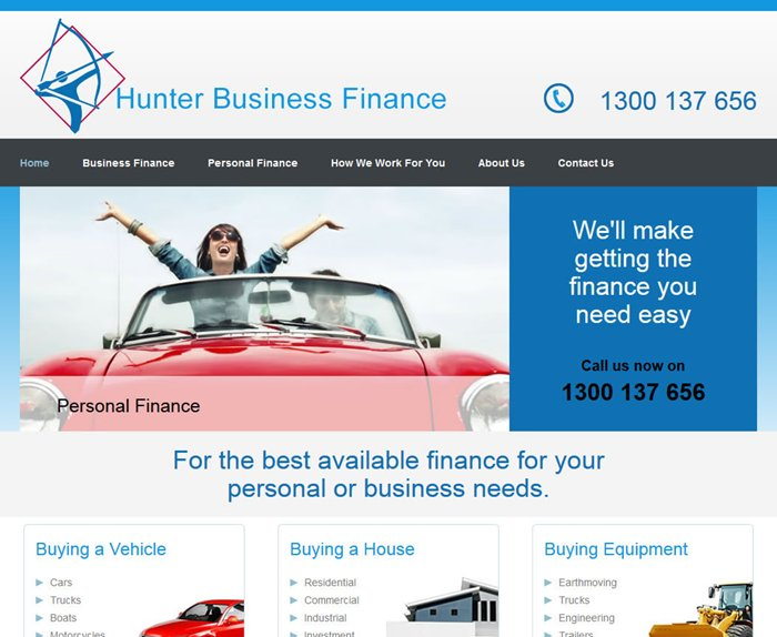 Go to Hunter Business Finance