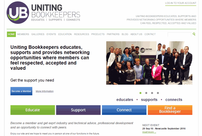 Go to Uniting Bookkeepers